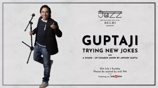 Guptaji Trying New Jokes : A Stand-Up Comedy Show by Appurv Gupta