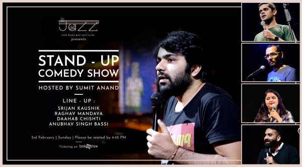 Stand-Up Comedy Show : Hosted by Sumit Anand