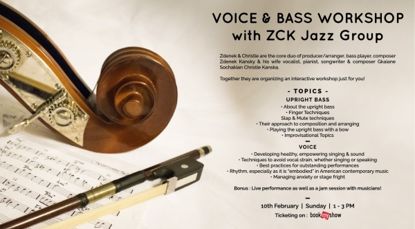 Voice and Bass Workshop with ZCK Jazz Group